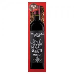 Myslivecké víno, Merlot 0,75l