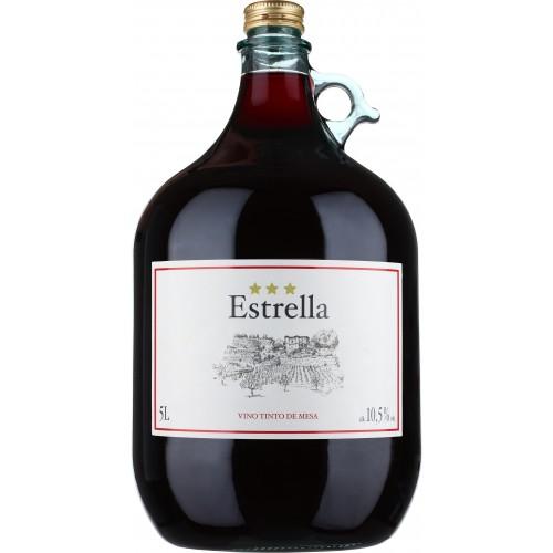 SPA Estrela červené  víno suché 5 l