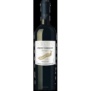 STOBI premium víno PETIT VERDOT barrique 0,75l