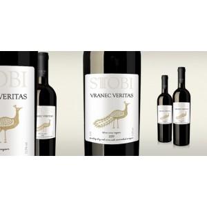 STOBI premium víno VRANEC VERITAS 0,75l