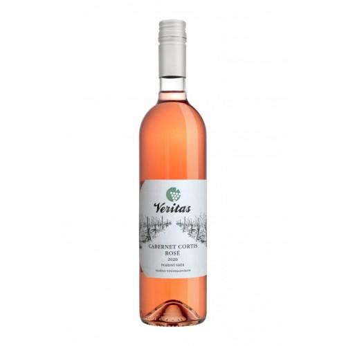 VERITAS VÍNO Cabernet Cortis rosé BIO 2020 0,75l