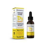 EKOMEDICA vitamín D3 junior, kvapky, 30ml
