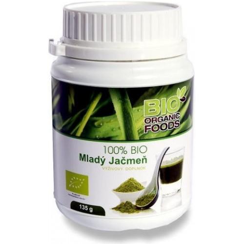 Mladý jačmeň - Bio Organic Food (135g)